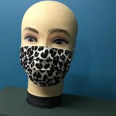 Fashion Side Pleat Mask