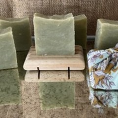 Eucalyptus & Cedarwood scented....100% all natural bar of goodness for your skin