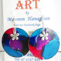 Resin  Drop earrings Set 7