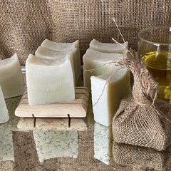 Castile Soap -OOO (Olive Oil Only ) Naked soap for sensitive skin.
