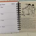 2021 Enid Blyton Upcycled Diary -Children of Cherry Tree Farm