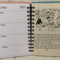 2021 Enid Blyton Upcycled Diary - Mr  Pink-Whistle Interferes