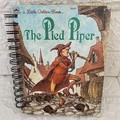 2020/2021 Financial Year Upcycled Diary -  Little Golden Book - The Pied Piper