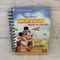 2020/2021 Financial Year Upcycled Diary -  Little Golden Book - Mickey Mouse