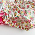 Frilly Paper Bag Nappy Cover Shorts & Baby Head Wrap Set - Size 00 | 3-6 months