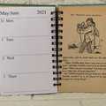 2021 Enid Blyton Upcycled Diary - Well. Really, Mr. Twiddle!