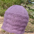 Pure wool purple ladies teen