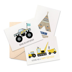 Birthday Boy Card Pack, Set of 3 Cards., CP3_006