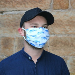 The Free Willy - Handmade Cotton Face Mask
