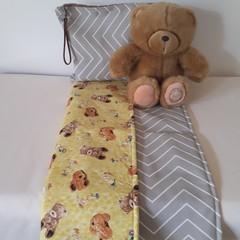 TEDDIES  DOGGIES Nappy Change Mat Plus Bag Option