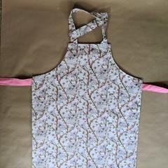 Handmade pink koala kids apron