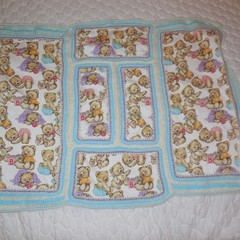 Baby Blanket/Wrap/Swaddle Cloth Patchwork
