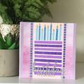 Birthday Wishes (Blue & Purple)