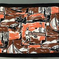 PLACEMATS - Retro 1950's fabric