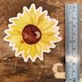 Watercolour Sunflower Sticker