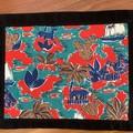 Placemats(4)-Original 1950's fabric-31 cm x 25 cm