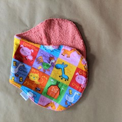 Burp Cloth with farmyard animals