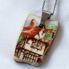 Antique English Pub Pendant