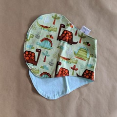 Burp Cloth with Dinosaurs