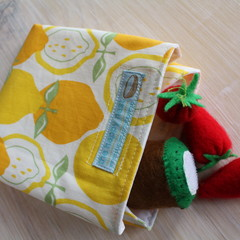 Sandwich wrap, SMALL - eco-friendly, reusable and washable!