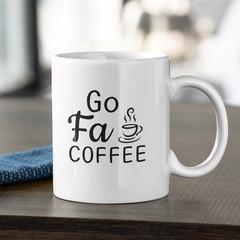 Go Fa Coffee Cup Ceramic Personalised Coffee Tea Mug - CM027