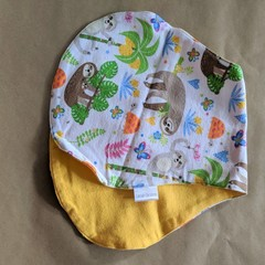 Burp Cloth with sloths