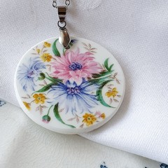 Foley Cornflower Pendant