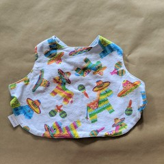 Pinata handmade stay on bib.