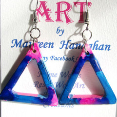 Resin  Drop earrings Set 17