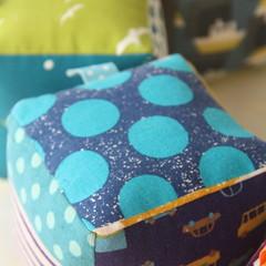 Sensory Rattle Block - baby shower gift, unisex toy