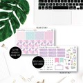 Self Care Weekly Kit Planner Stickers for the Vertical Erin Condren - KIT010