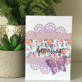Just Because (Doily Border)
