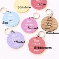 Personalised Key Ring For Her, 7 Colours to Choose From, Mother's Day