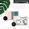 Bookworm Weekly Kit Planner Stickers for the Vertical Erin Condren - KIT008