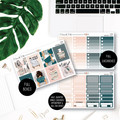 Bookworm Weekly Kit Planner Stickers for the Vertical Erin Condren - KIT008