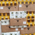 beeswax wraps pack of 5 assorted sizes