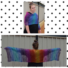 Open Work Shawl