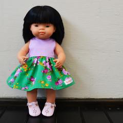 'Jessica' and Violet Miniland Dress