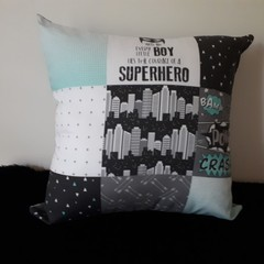 SUPER HERO  CUSHION (Includes Insert)