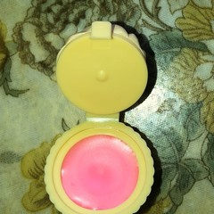 Natural Lip Balm x 2 - In cup cake pots - Strawberry