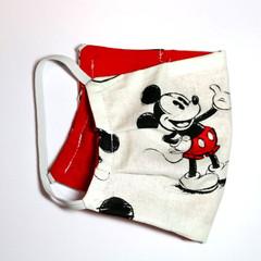 The Hey Mickey - Handmade Cotton Face Mask
