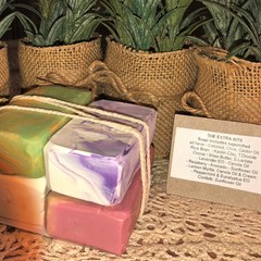 Natural Soap Bundle   Total Weigth 385g - by 'Highlands Cottage Soapery'