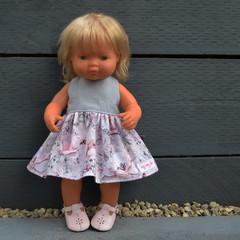 'Holly' and Grey Miniland Dress