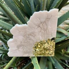 Resin Geode Coaster