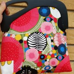Flower garden handbag