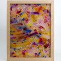 Abstract 023 Stress Of Beauty Wax Painting Light Box