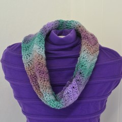 Crocheted Cowl Scarf