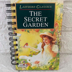 Ladybird Classic Upcycled Notebook - The Secret Garden