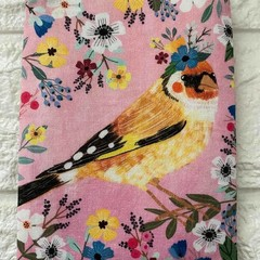 FLORAL PETS  - BIRDS - COIN PURSES