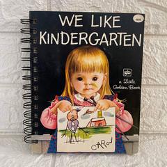 2021 Little Golden Book Upcycled Diary - We Like Kindergarten